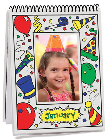 Image of Melissa Doug Month-by-Month Flip Frame