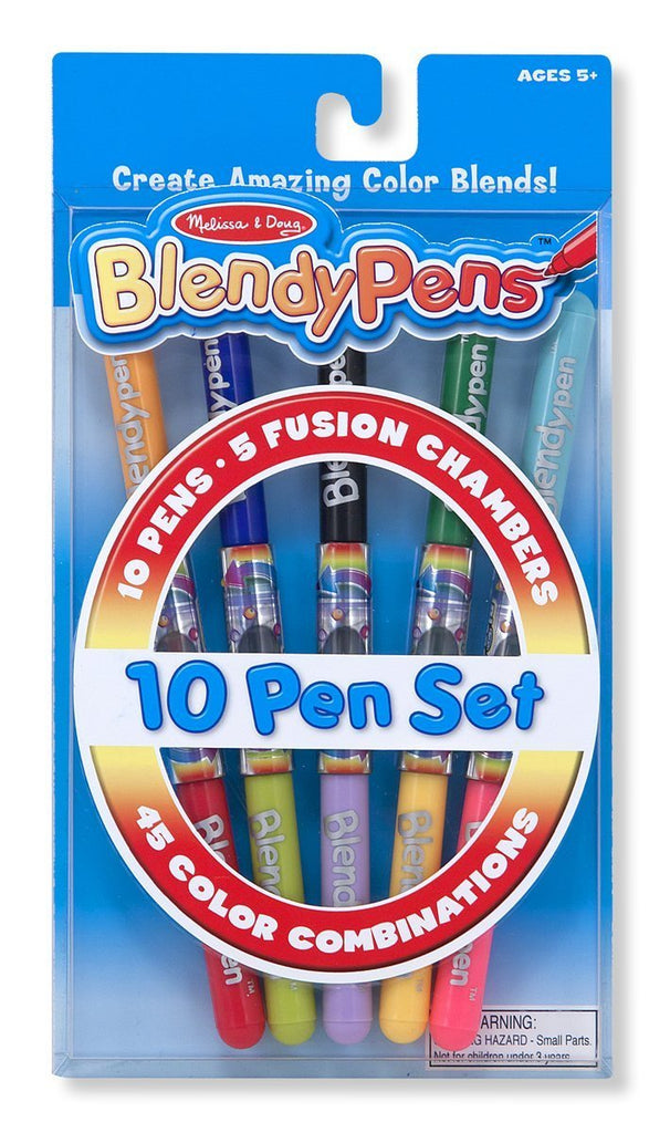 Melissa Doug Blendy Pen - 10 Color Pack