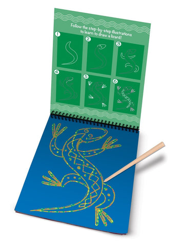 Image of Melissa Doug Drawing Book - Learn To Draw Animals