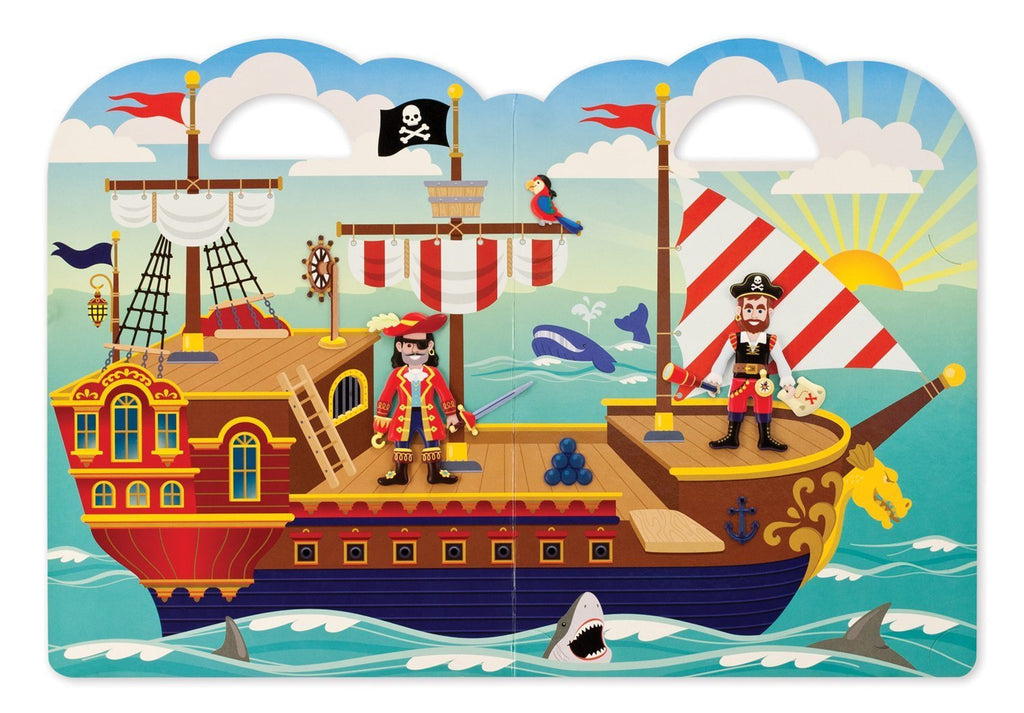 Melissa Doug Puffy Sticker Play Set - Pirate