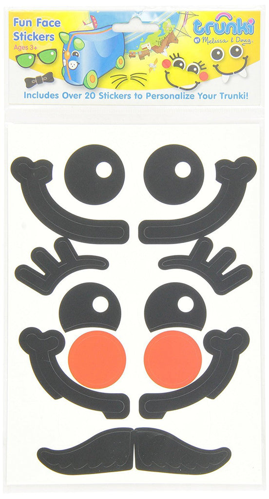 Melissa Doug Trunki Stickers - Fun Face
