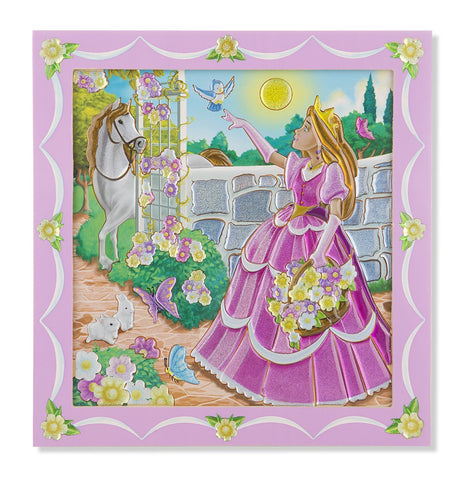 Image of Melissa Doug Peel & Press Sticker by Number - Princess