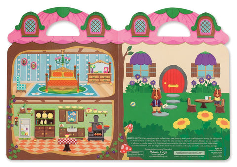 Image of Melissa Doug Puffy Stickers - Chipmunk House