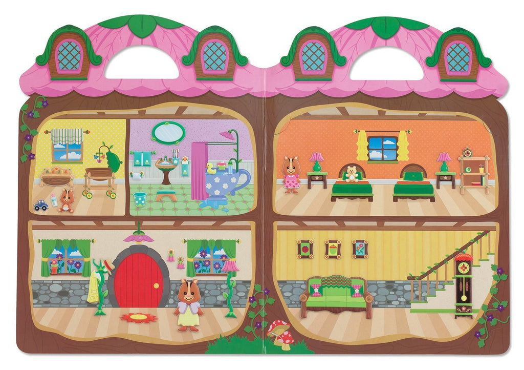 Melissa Doug Puffy Stickers - Chipmunk House