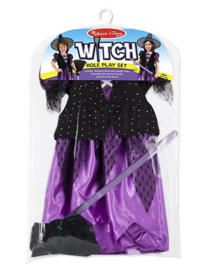 Melissa Doug Witch Role Play Costume Set 8505