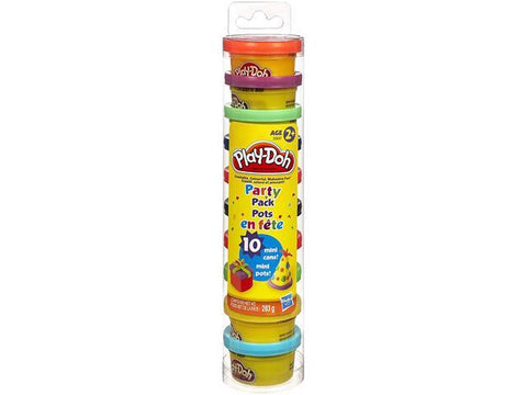 Image of Play-Doh Mini 10 Count Party Pack, 10 oz