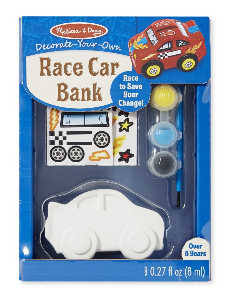 Melissa Doug Race Car Bank - DYO 8863