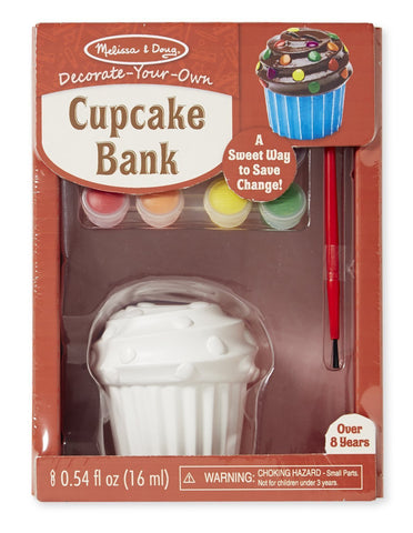 Image of Melissa Doug Cupcake Bank 8864
