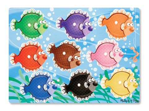 Image of Melissa Doug Colorful Fish Peg Puzzle