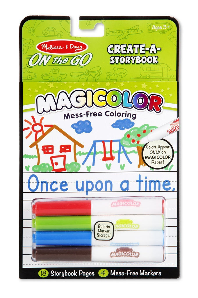 Melissa Doug Color-Your-Own Storybook