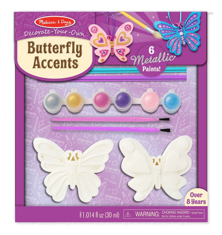 Image of Melissa Doug DYO Butterfly Accents 9476