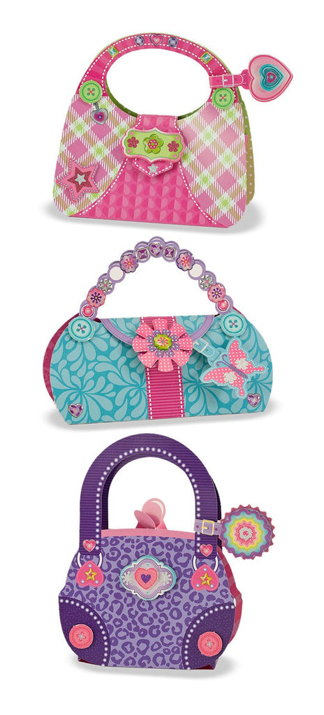 Melissa Doug Simply Crafty - Precious Purses 9482