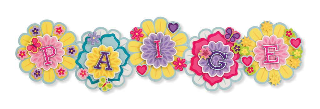 Melissa Doug Simply Crafty - Personalized Letter Flowers 9488