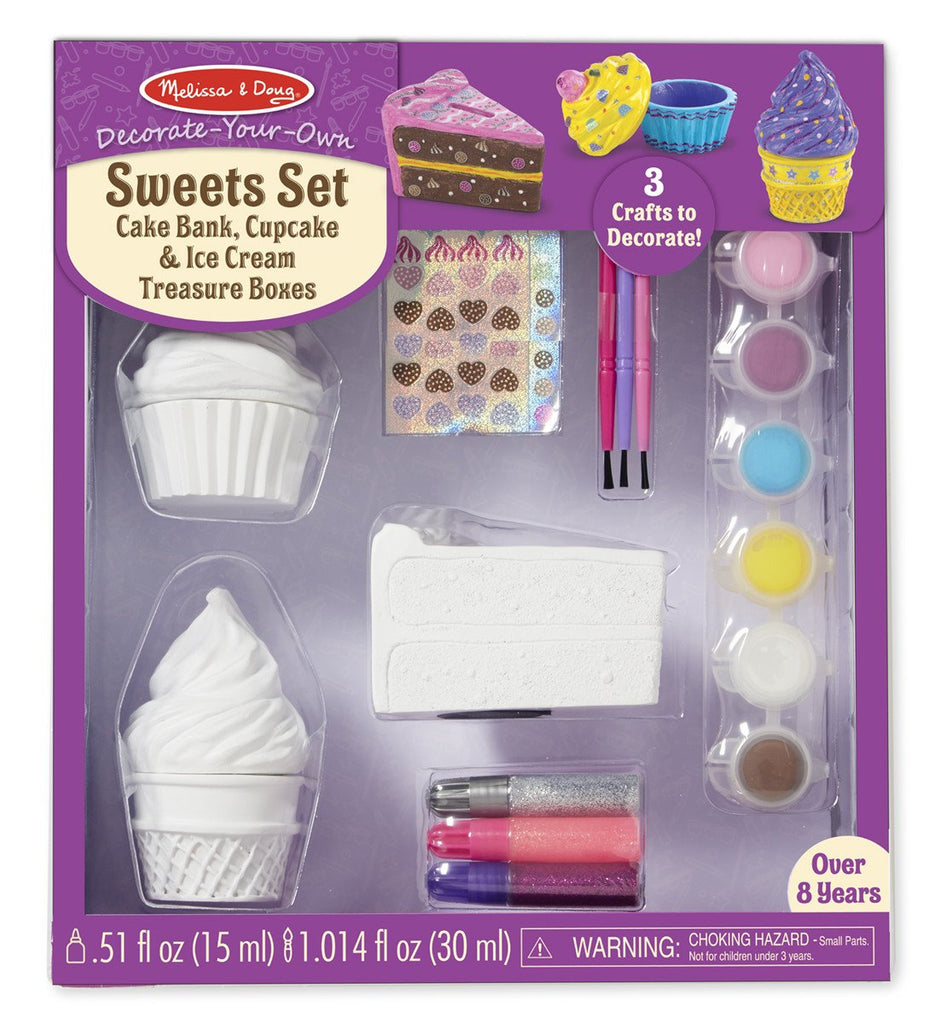 Melissa Doug DYO Sweet Set 9535