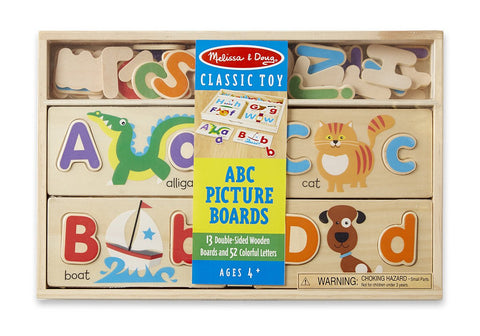 Image of Melissa Doug ABC Picture Boards 9786