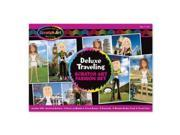 Melissa & Doug Deluxe World Tour Scratch Art Set