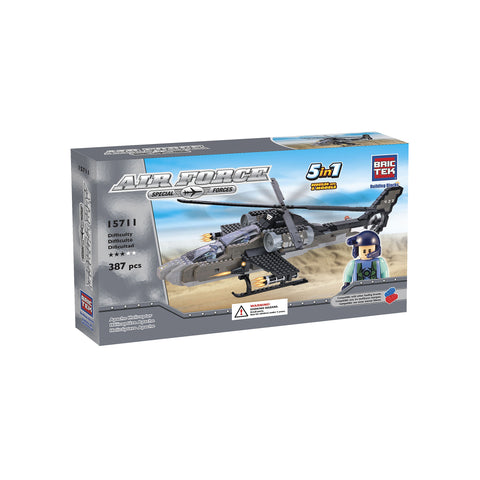 Air Force Apache Helicopter 5 in 1