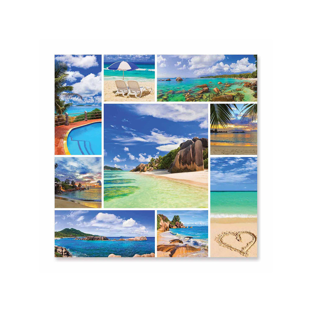 Melissa And Doug Photos From Paradise Tropical Beaches Puzzle 1000pc