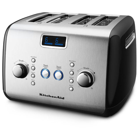 Image of KitchenAid 4-Slice Toaster - Onyx Black KMT423OB