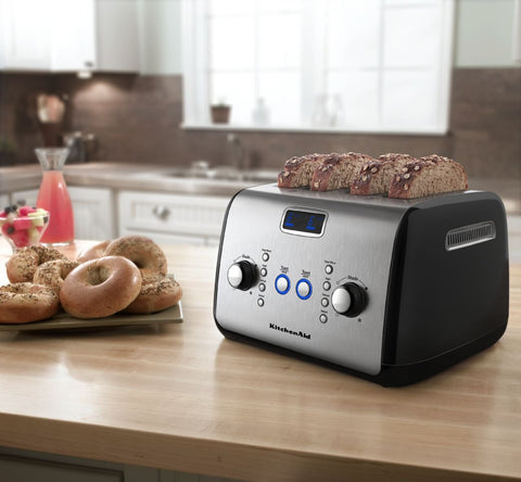 KitchenAid 4-Slice Toaster - Onyx Black KMT423OB