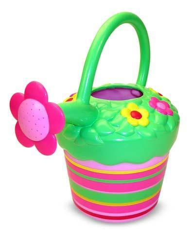 Melissa Doug Blossom Bright Watering Can 6259