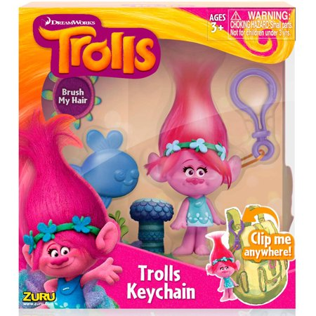 Image of Trolls Medium Key Chain, Poppy