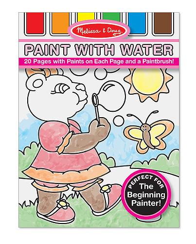 Melissa Doug Paint with Water - Pink 3762