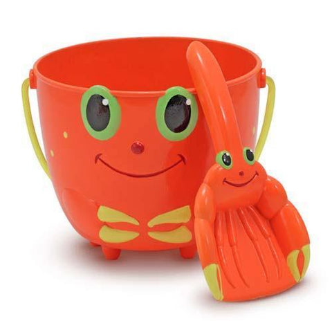 Melissa Doug Clicker Crab Pail and Scoop