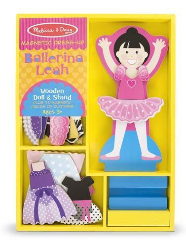 Melissa Doug Ballerina Leah - Magnetic Dress 5162
