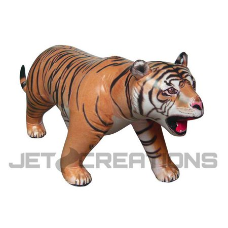 8' Long Lifelike Inflatable Tiger