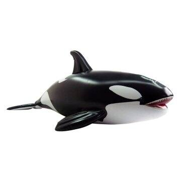 84 in. Long Lifelike Inflatable Orca Whale