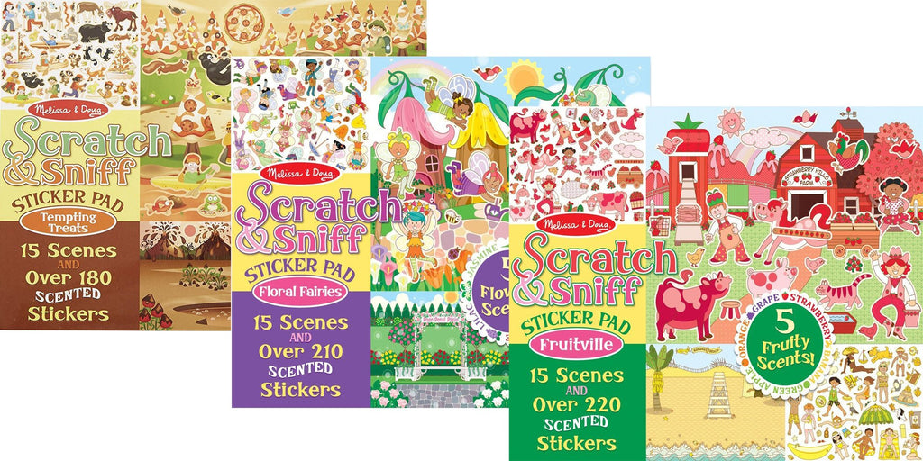 Fruitville & Floral Fairies & Tempting Treats Set