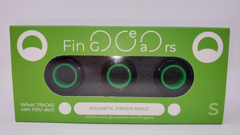 Authentic Fin-Gears Magnetic Finger Rings