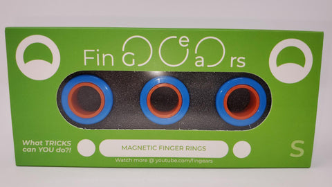 Image of Authentic Fin-Gears Magnetic Finger Rings