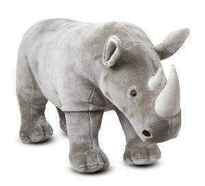 Melissa Doug Rhinoceros - Plush