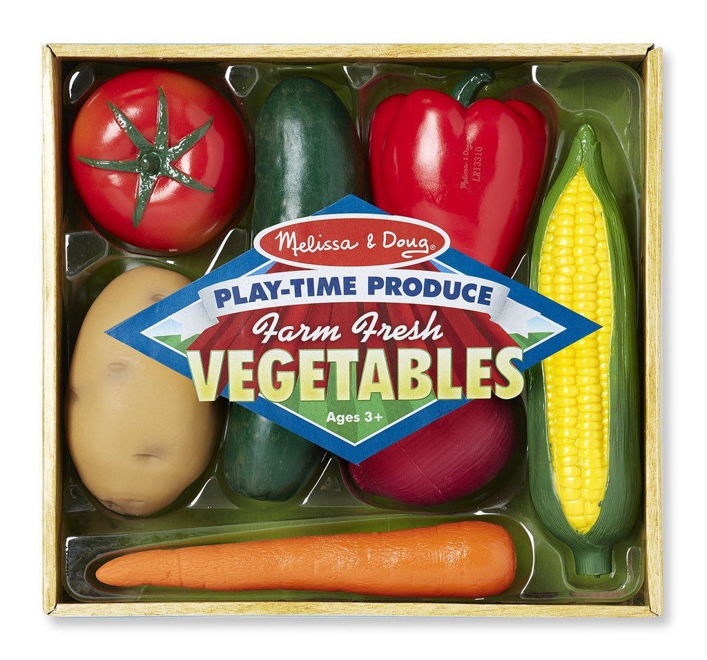 Melissa Doug Play-Time Produce Vegetables 4083