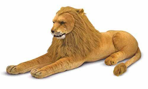 Melissa Doug Lion - Plush