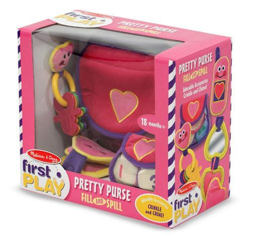 Melissa Doug Pretty Purse Fill and Spill 3049