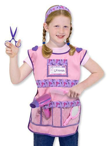 Image of Melissa Doug Hair Stylist Role Play Costume Set 4847