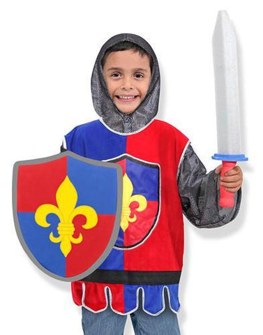 Image of Melissa Doug Knight Role Play Costume Set 4849