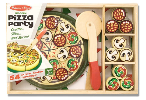 Image of Melissa Doug Pizza Party 167