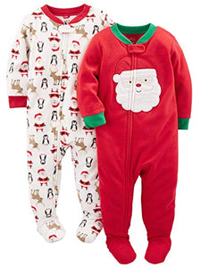 a5a735626 Simple Joys by Carter s Baby and Toddler 2-Pack Holiday Loose Fit ...