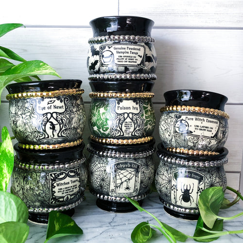 Pure Witch Essence Apothecary Planter