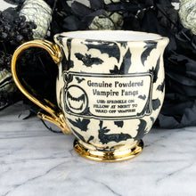 Load image into Gallery viewer, Genuine Powdered Vampire Fangs Mug