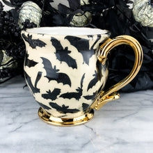 Load image into Gallery viewer, Black and White Bat Mug