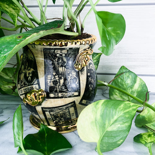 Tarot Card Planter