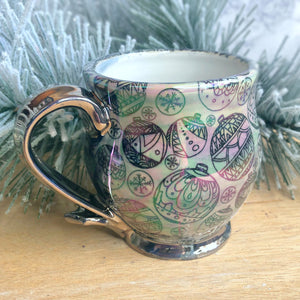 Iridescent Ornament Mug