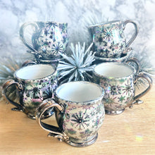 Load image into Gallery viewer, Iridescent Snowflake Mug