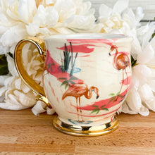 Load image into Gallery viewer, Pink Marble Flamingo Mug