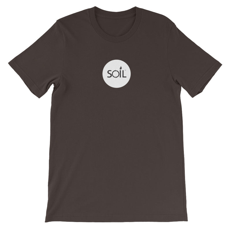 SOIL Badge Short-Sleeve Unisex T-Shirt